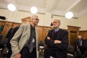 Dr. Bernhard Koch, stellvertretender Leiter des IThF und Prof. Dr. Nigel Biggar, Christ Church Oxford