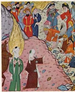 Abu Bakr stoppt mekkanischen Mob